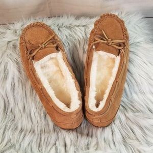SO Marker Chestnut Suede Leather Loafers Shoes S8